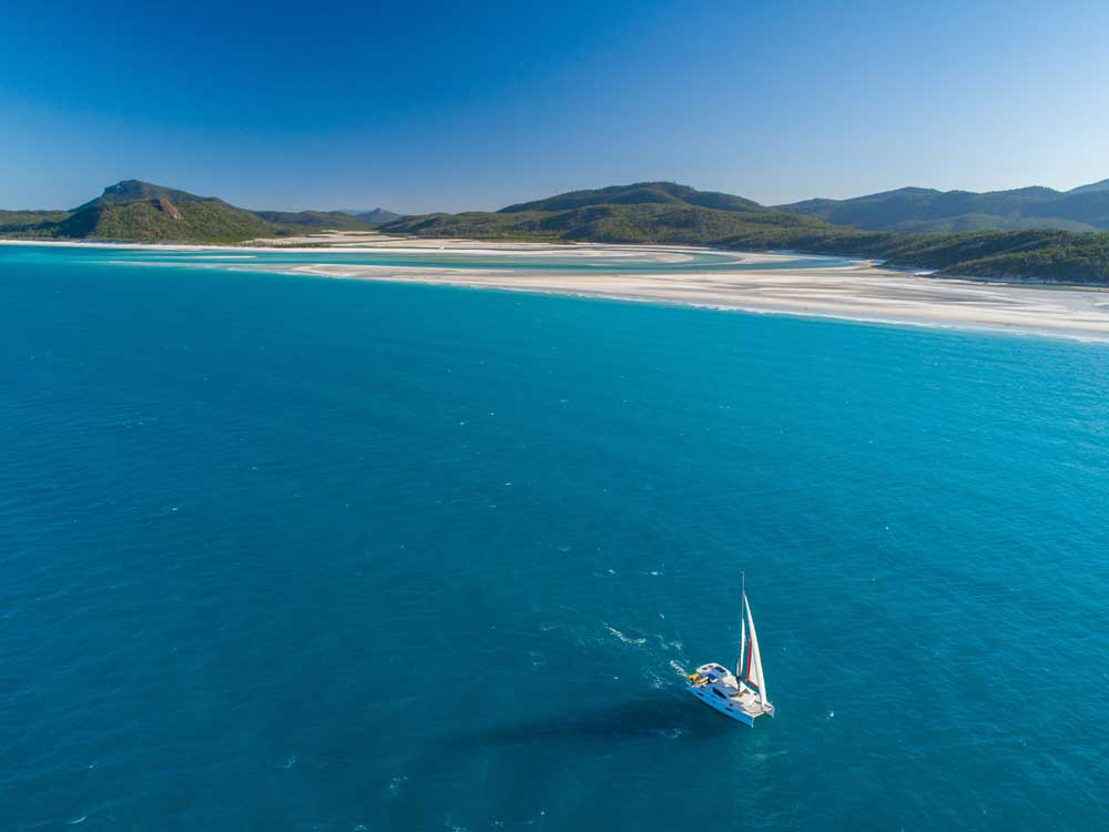 Whitehaven Beach Bareboat Honeymoon or Wedding Charter