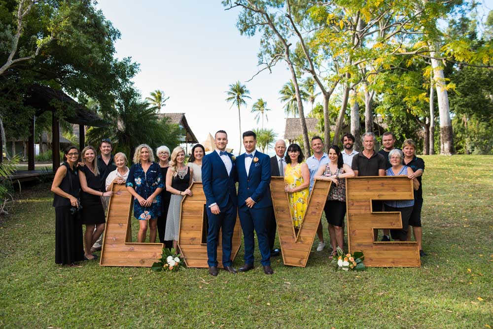 Just Married! The Joshua's say 'I Do' in Whitsundays' wedding of the year