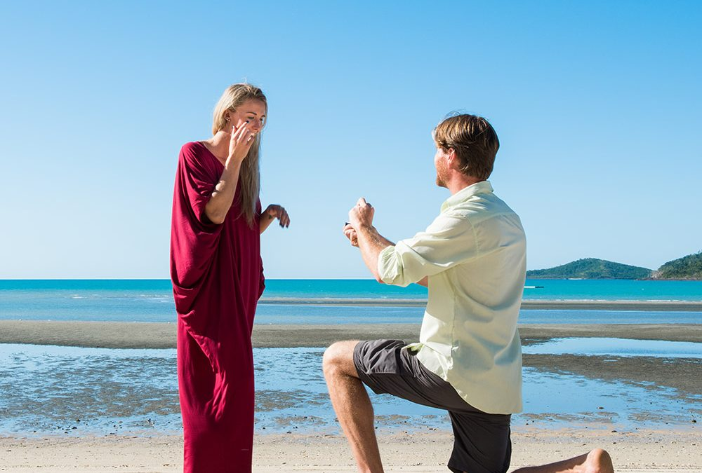 Propose In Paradise